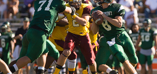November 18, 2006: Grossmont Griffins defeat Victor Valley Rams 49-7 at Grossmont College in first round playoff game